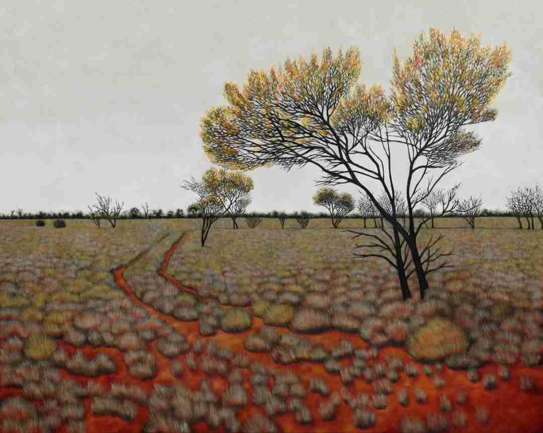 KAREN STANDKE -Maralinga Landscape II (Taranaki) Image
