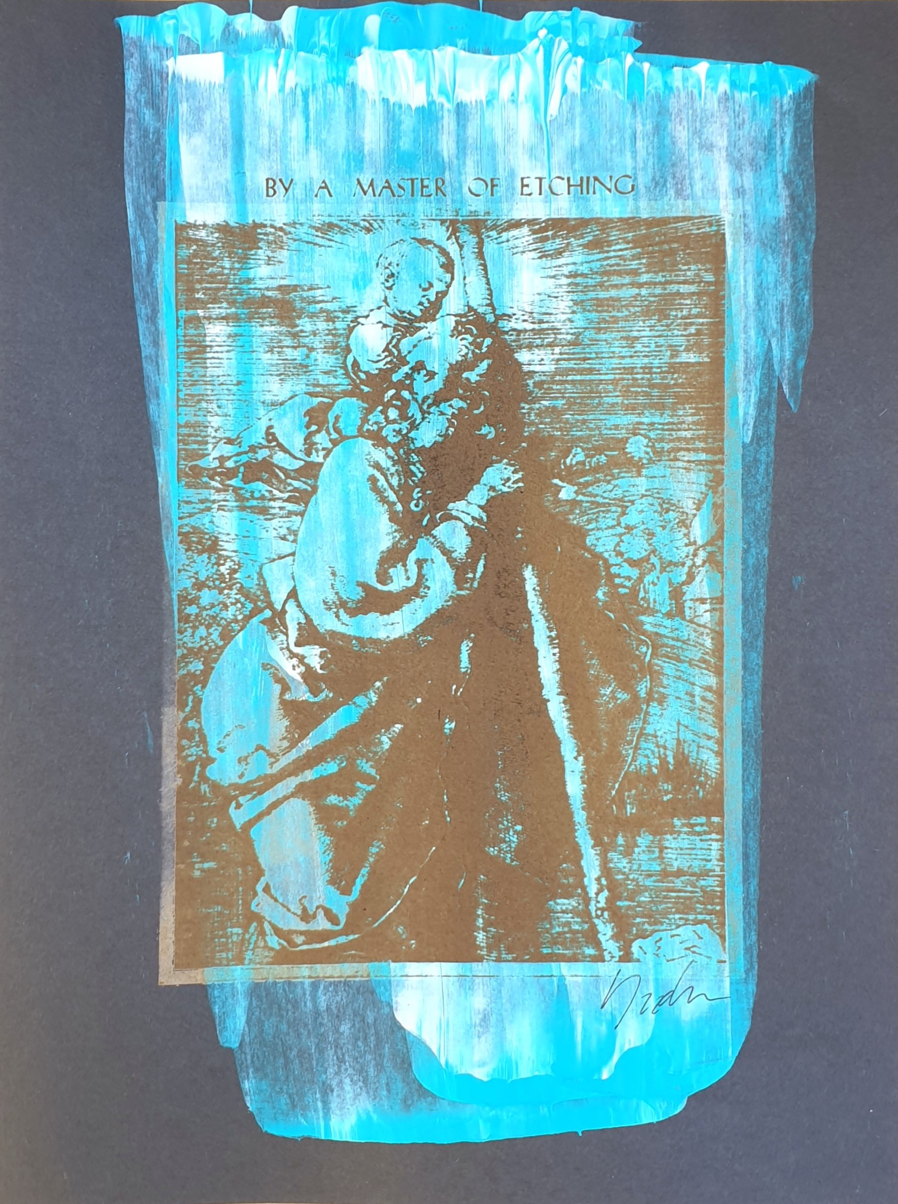 (108) Yudha Scholes - By A Master of Etching Image