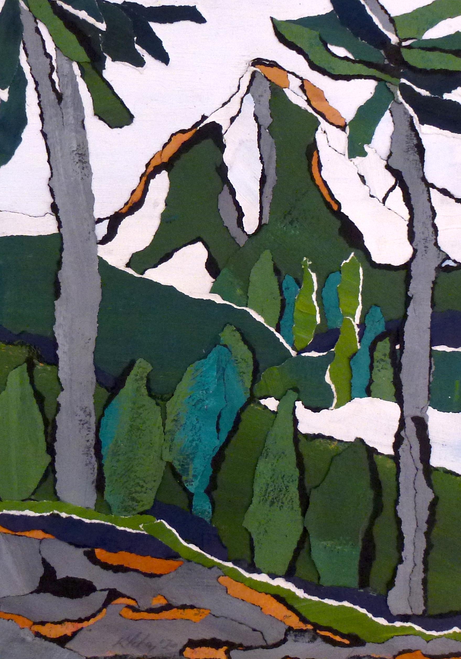 (74) Kathy Fahey - Winter Landscape Image