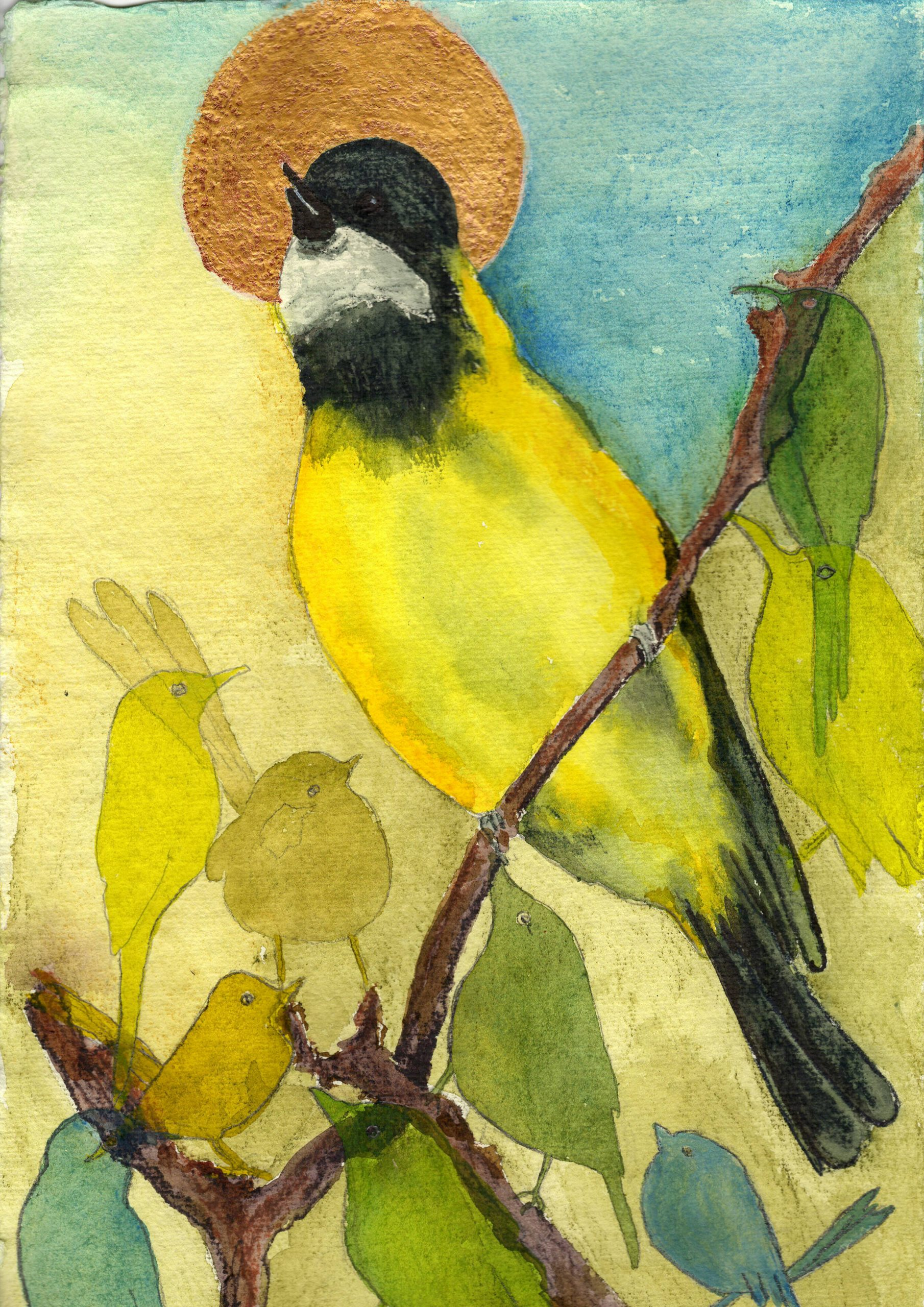 (64) Mary-Anne Stuart - Be Attentive to the Birds Image