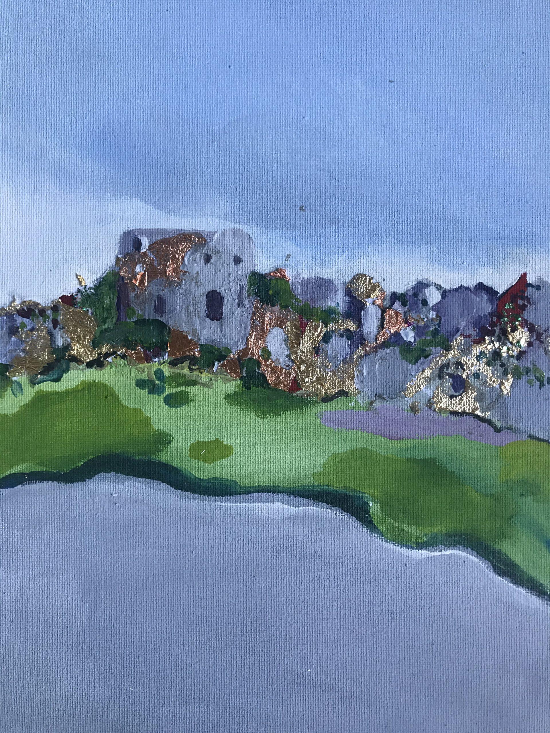 (100) Karen Preston - Windsor Castle Landscape Image