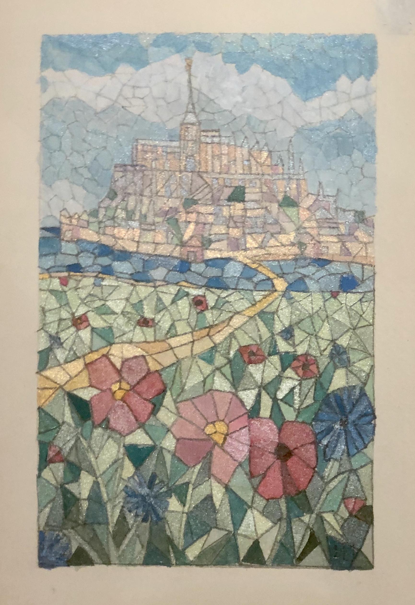 (90) Bev Plowman - Mont Saint Michel Image