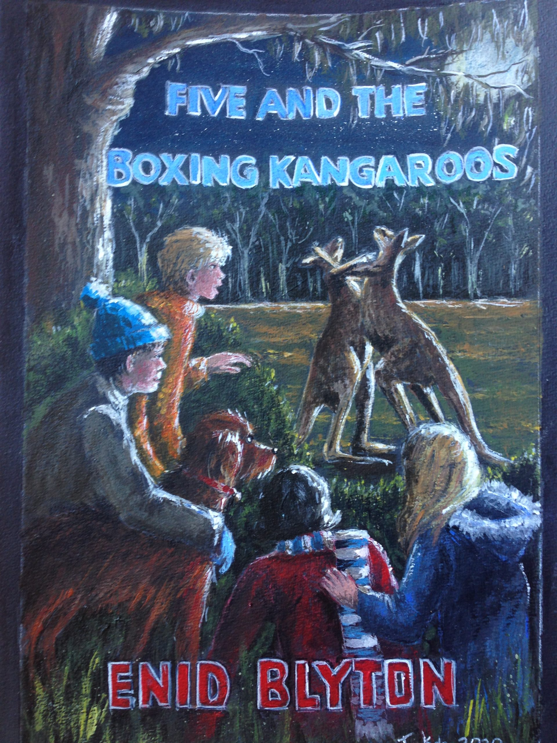 (160) Julie Kala - FiVE AND THE BOXING KANGAROOS Image