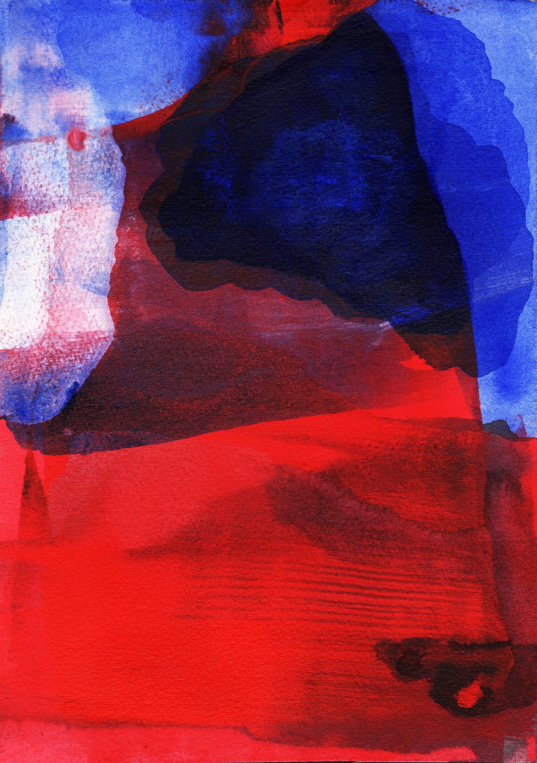 (12) Susana Depetris - Red and Blue Image