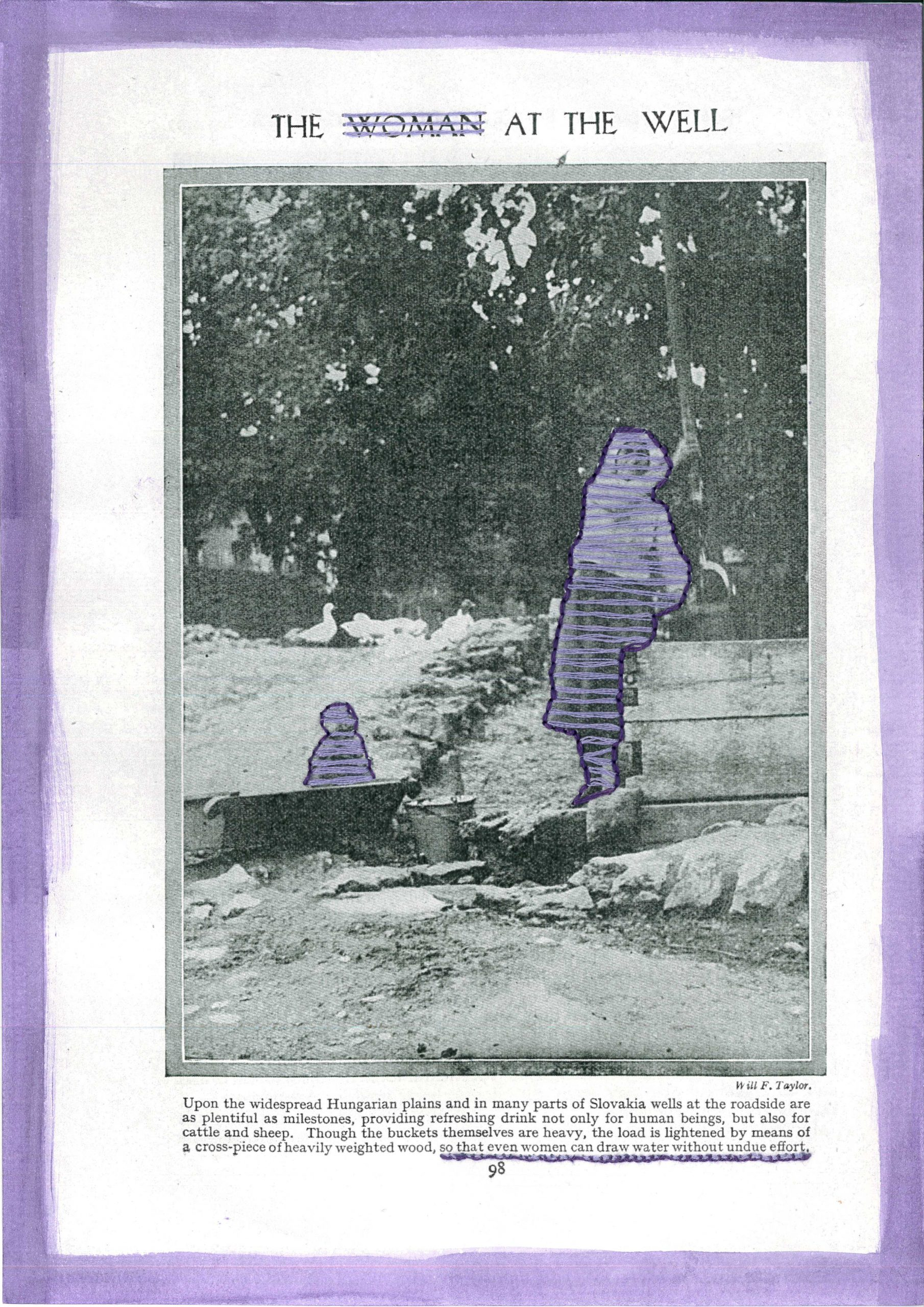 (1199) IMMA DUÑACH GIRONELLA - The woman at the well, 2021 Image